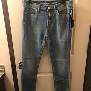Articles of Society Distressed Light Wash Jeans